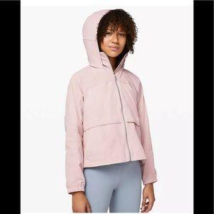 NWT lululemon Effortless Jacket PBLS Pink Bliss